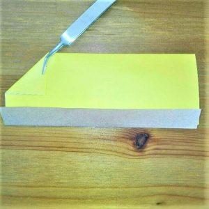 10折り紙新幹線【ドクターイエロー】の折り方|簡単です!