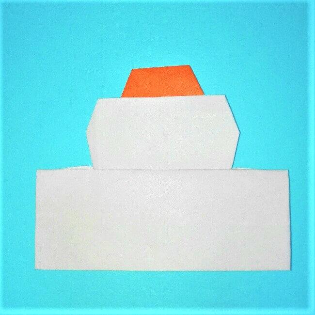 11折り紙【お正月の鏡餅】の簡単な折り方子供と楽しもう!