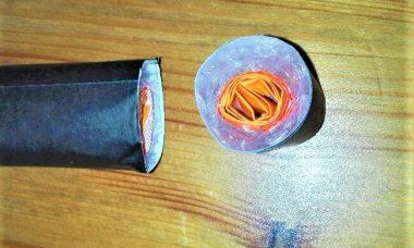 11折り紙【巻き寿司】の簡単な作り方  子供と一緒に楽しもう!