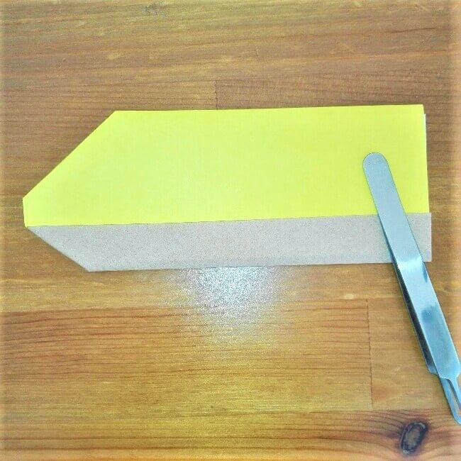 12折り紙新幹線【ドクターイエロー】の折り方|簡単です!