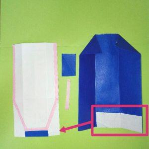 12折り紙新幹線【E4系】立体の簡単なな折り方|子供もにこにこ!