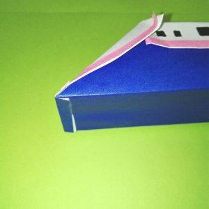 21折り紙新幹線【E4系】立体の簡単なな折り方|子供もにこにこ!