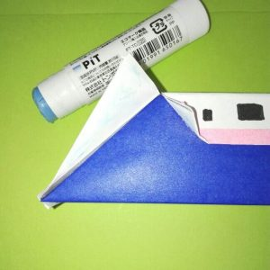 22-1折り紙新幹線【E4系】立体の簡単なな折り方|子供もにこにこ!
