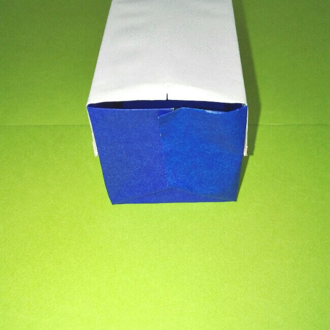 24折り紙新幹線【E4系】立体の簡単なな折り方|子供もにこにこ!