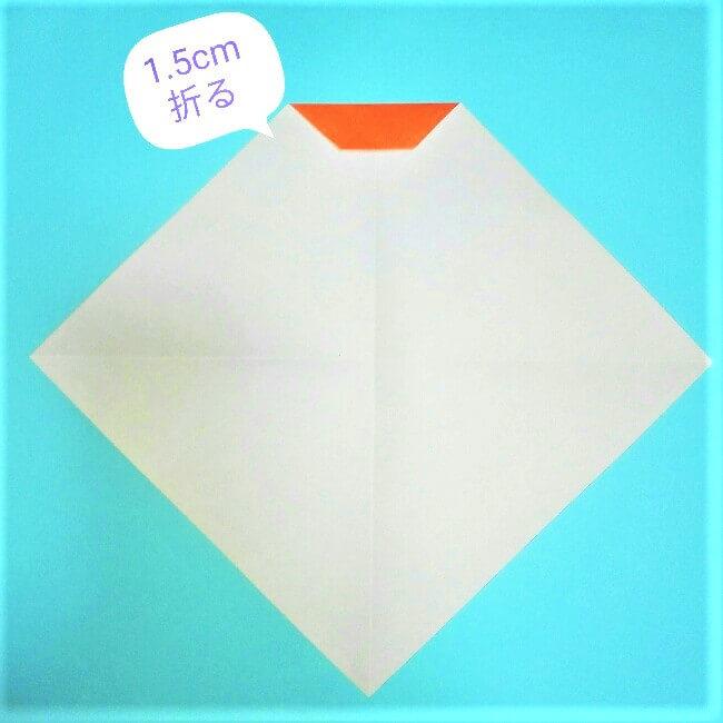 3折り紙【お正月の鏡餅】の簡単な折り方子供と楽しもう!