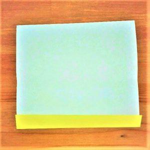 3折り紙新幹線【ドクターイエロー】の折り方|簡単です!
