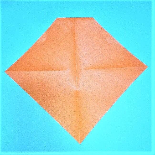 4折り紙【お正月の鏡餅】の簡単な折り方子供と楽しもう!