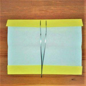 4折り紙新幹線【ドクターイエロー】の折り方|簡単です!