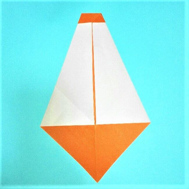 5折り紙【お正月の鏡餅】の簡単な折り方子供と楽しもう!