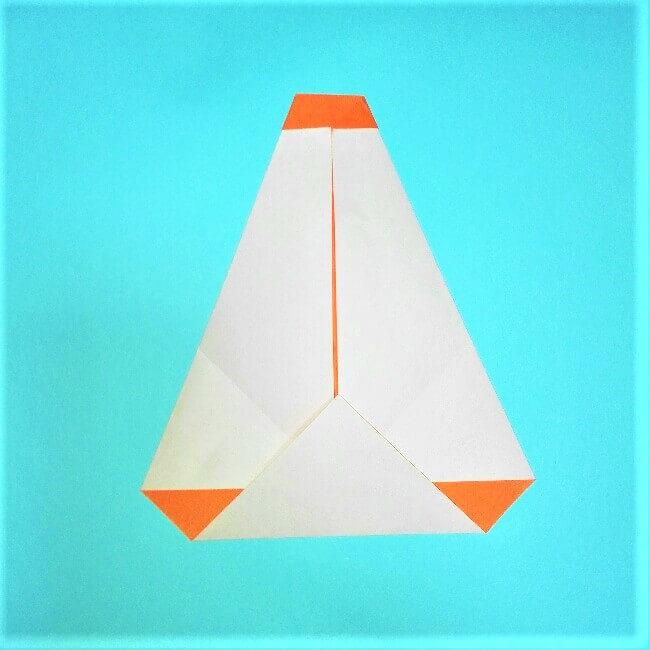 6折り紙【お正月の鏡餅】の簡単な折り方子供と楽しもう!
