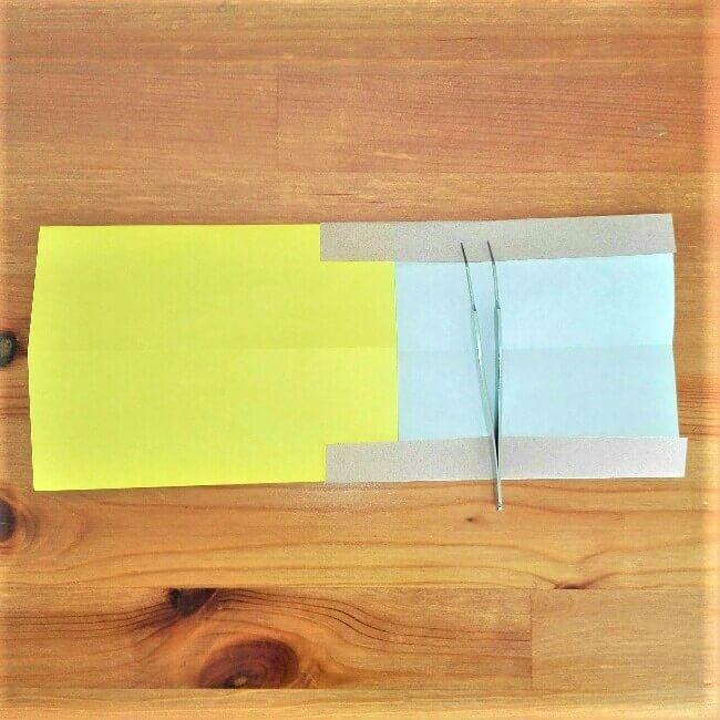 7折り紙新幹線【ドクターイエロー】の折り方|簡単です!