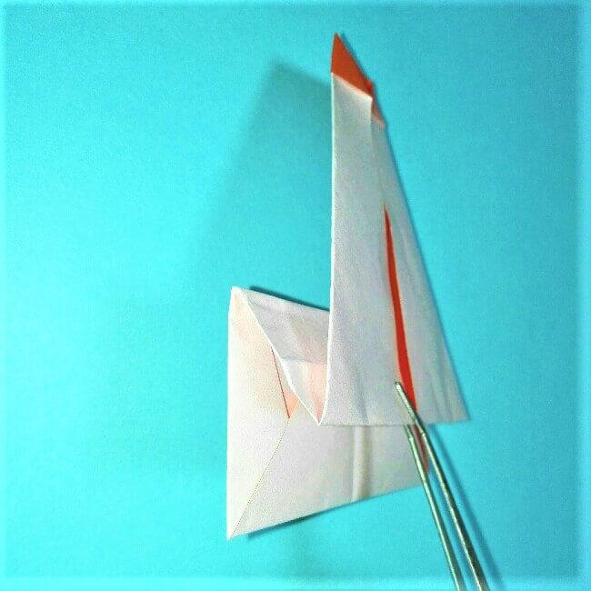8-2折り紙【お正月の鏡餅】の簡単な折り方子供と楽しもう!