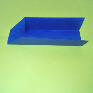 9折り紙新幹線【E4系】立体の簡単なな折り方|子供もにこにこ!