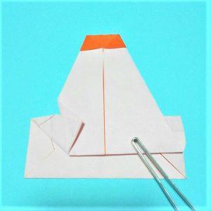 9-1折り紙【お正月の鏡餅】の簡単な折り方子供と楽しもう!