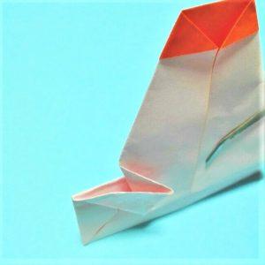 9-2折り紙【お正月の鏡餅】の簡単な折り方子供と楽しもう!
