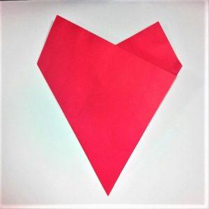 折り紙の折り方+苺バッグ 4-2