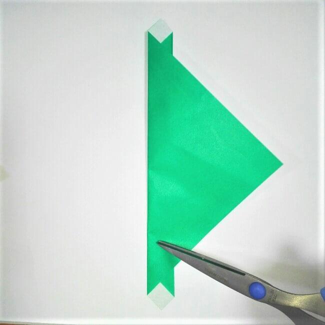 折り紙の折り方+苺バッグ 7-2