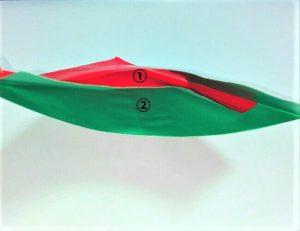 折り紙の折り方+苺バッグ 9-1
