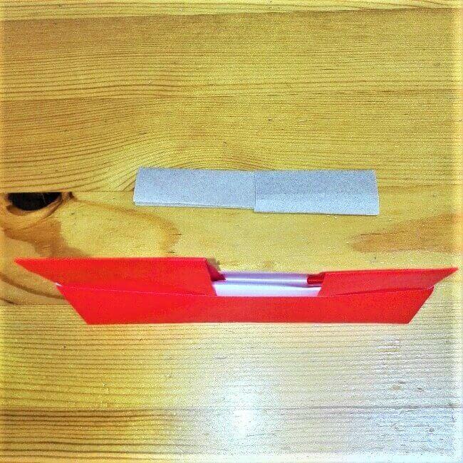 折り紙の折り方+消防車 24
