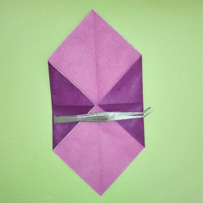 折り紙の折り方+盾 2