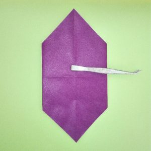 折り紙の折り方+盾 3