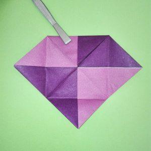 折り紙の折り方+盾 6-1