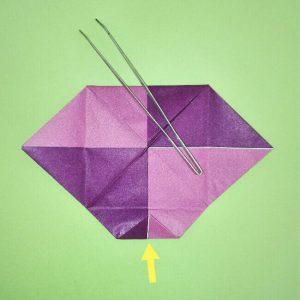 折り紙の折り方+盾 6-2