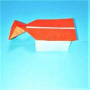 折り紙の折り方+寿司卵&エビ 32