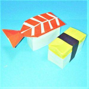 折り紙の折り方+寿司卵&エビ 33