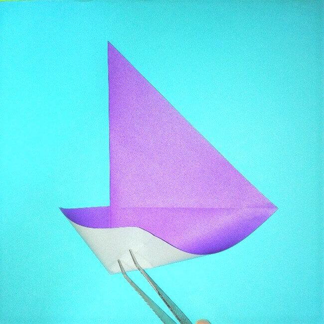 折り紙の折り方+ウィンドボート4-1
