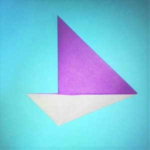 折り紙の折り方+ウィンドボート4-2