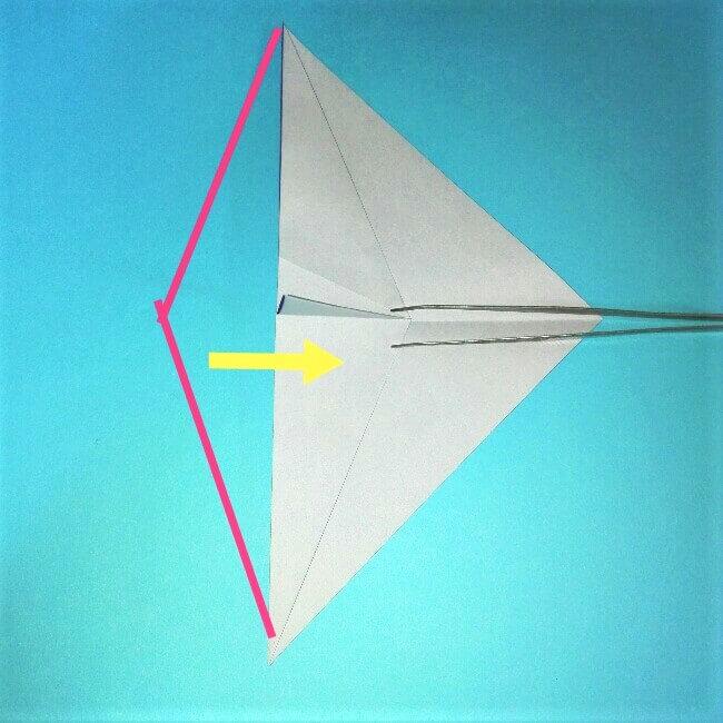 折り紙の折り方+ウィンドボート6