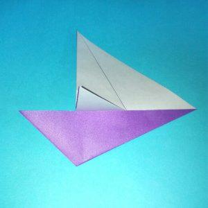 折り紙の折り方+ウィンドボート7-1