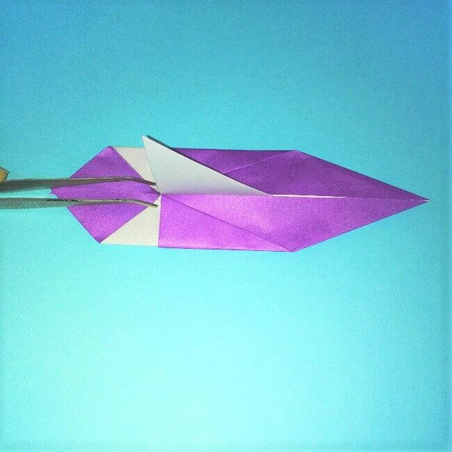 折り紙の折り方+ウィンドボート8-2