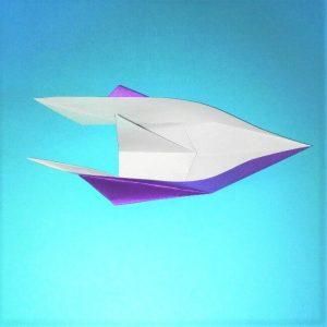 折り紙の折り方+ウィンドボート9