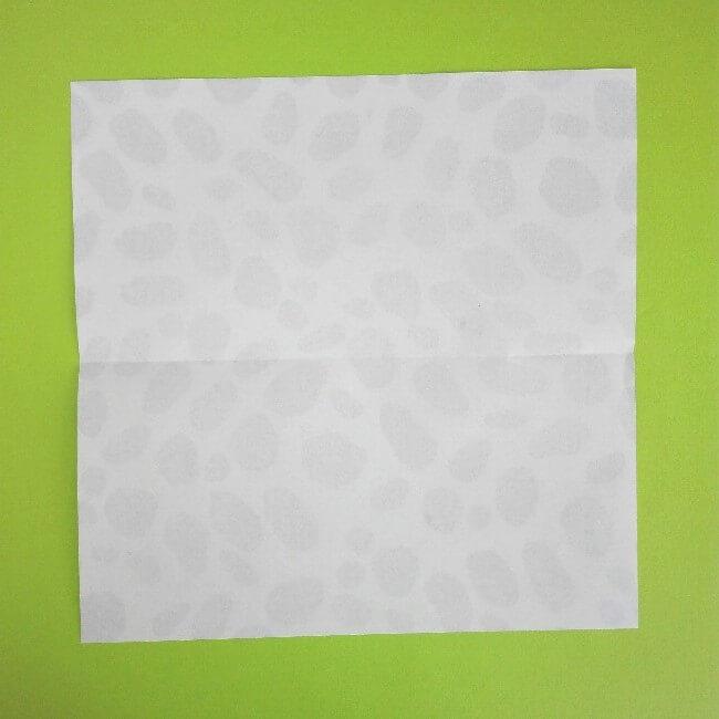 折り紙の折り方+ウシ 1