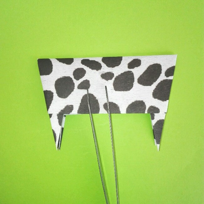 折り紙の折り方+ウシ 13