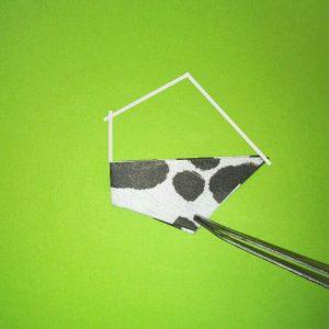 折り紙の折り方+ウシ 19