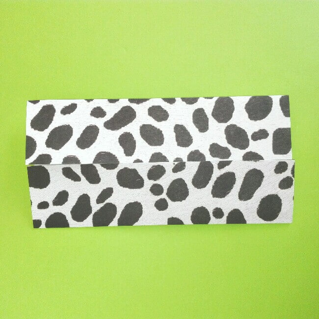 折り紙の折り方+ウシ 2