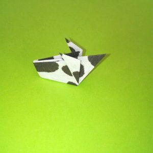 折り紙の折り方+ウシ 20