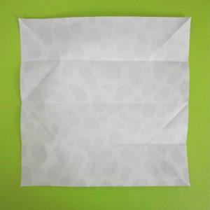 折り紙の折り方+ウシ 4