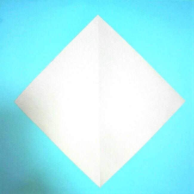 折り紙の折り方+カブトムシ(平面)2枚で簡単 1