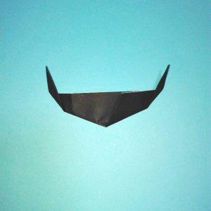 折り紙の折り方+カブトムシ(平面)2枚で簡単 14