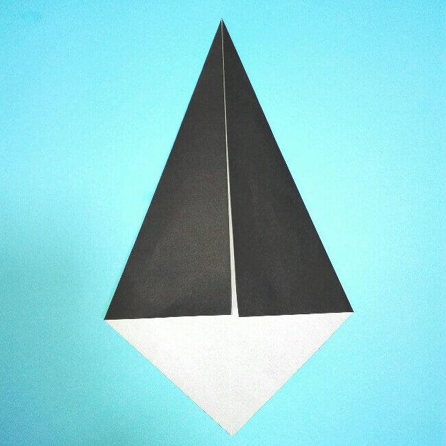 折り紙の折り方+カブトムシ(平面)2枚で簡単 2