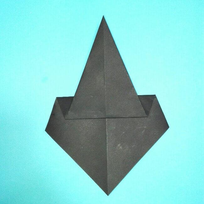 折り紙の折り方+カブトムシ(平面)2枚で簡単 4