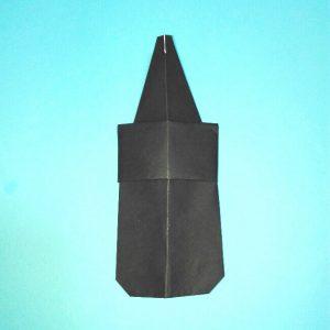 折り紙の折り方+カブトムシ(平面)2枚で簡単 9