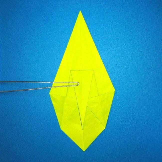 折り紙の折り方+コガネムシ 12-1