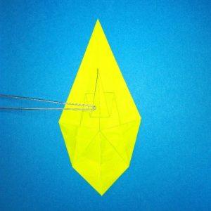 折り紙の折り方+コガネムシ 12-2