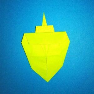 折り紙の折り方+コガネムシ 15