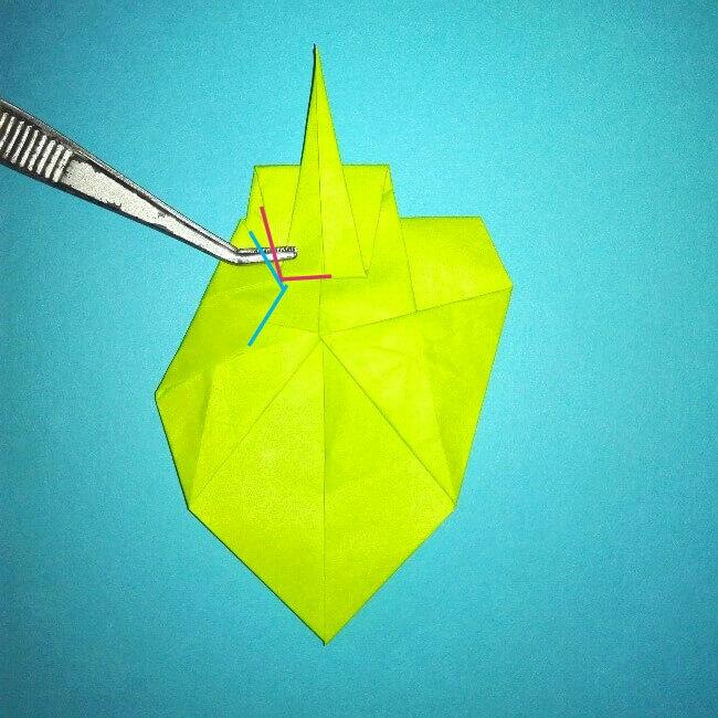 折り紙の折り方+コガネムシ 17-1